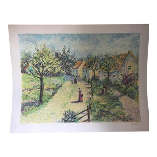 Leila Pissarro Landscape HC Serigraph Print