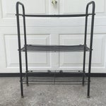 Image of Mid-Century Curved Wire Three Shelf Unit