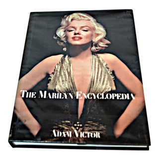 Marilyn Monroe Vintage Coffee Table Book by Adam Victor