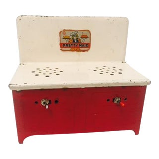 Antique Metal Toy Oven