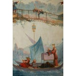 Image of Grand, 18th c. Chinoiserie Painting