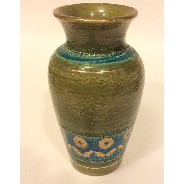 Mid Century 1960's Bitossi Ceramic Vase - Image 2 of 6