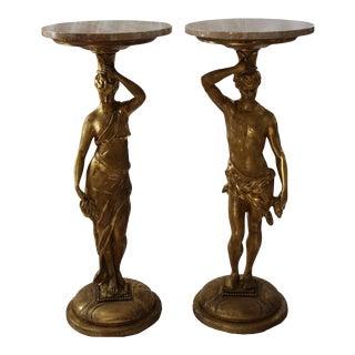 Italian Side Tables - A Pair