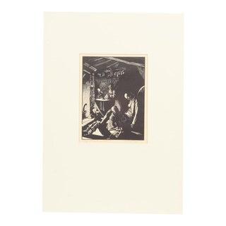 'Heathcliff's Grief' Original Print