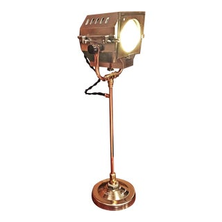 Repurposed Handmade Theater Spot Light, 1940's