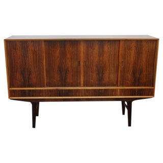 Danish Large Rosewood Credenza or Sideboard