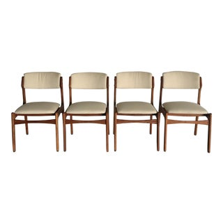 Danish Dining Chairs - Set of 4