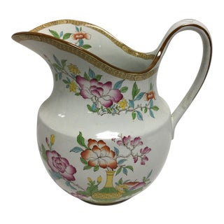 Royal Cauldon Ironstone Pitcher