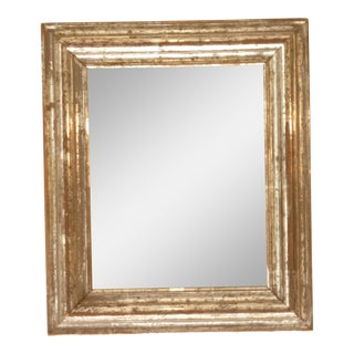 Small Silverleaf Accent Mirror