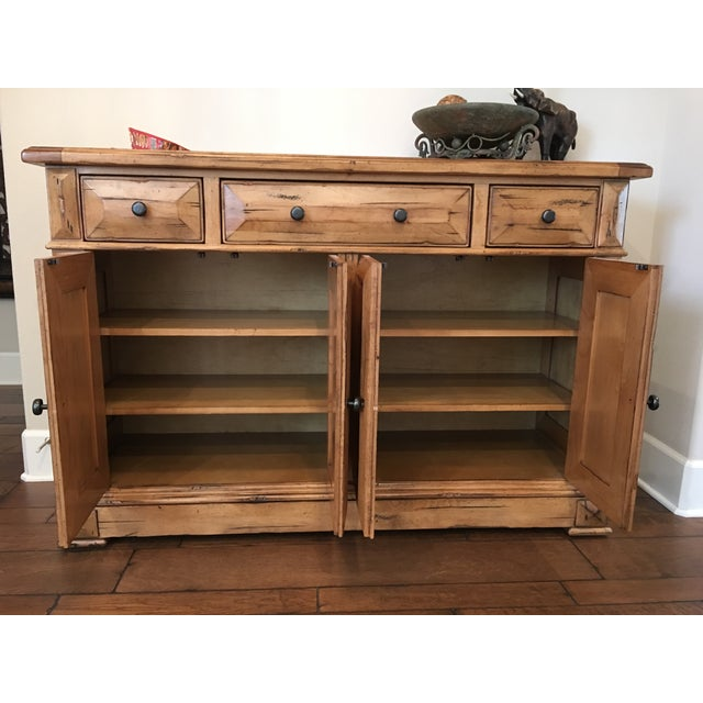 High end custom wooden buffet table by lorts chairish for High end furniture for less