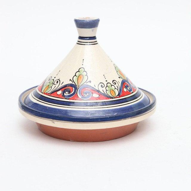 Image of Atlas Blue Decorative Tajine