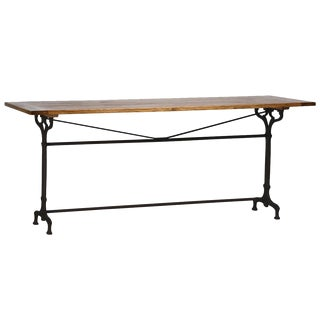 Madden Wood & Iron Dining Table