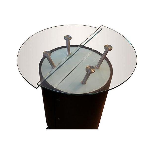 Modern Expanding Bar Cabinet - Image 2 of 5