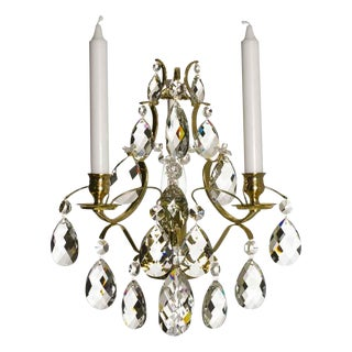Crystal Sconce Baroque Style Chandelier