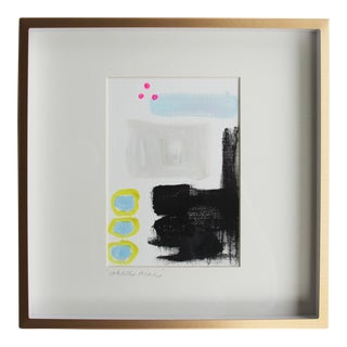 Abstract Whose Mine Framed Painting