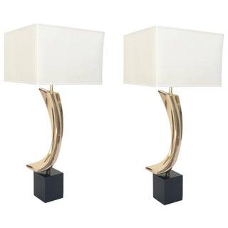 Maurizio Tempestini Monumental Lamps - A Pair