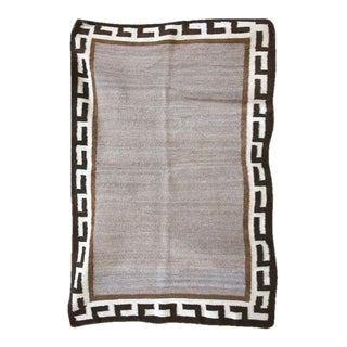 Navajo Single Saddle Blanket - 2′7″ × 3′11″