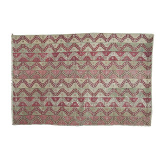 "Distressed Antique Anatolian Rug - 3'5"" x 5'1"""