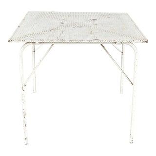 Rare Mathieu Matégot Folding Dining Table, circa 1950