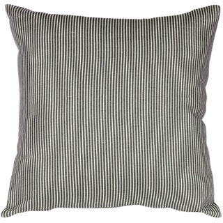 Wedgwood Blue Ticking Stripe Pillow