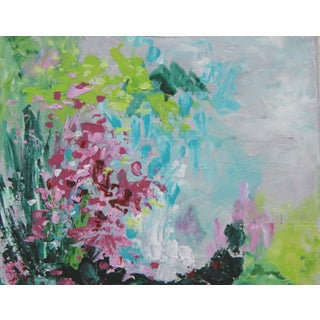 """""""Wildflower Cache"""" Abstract Painting by C. Plowden"""
