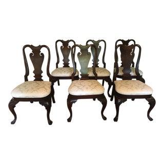 Pennsylvania House Hogarth Solid Mahogany Chairs - Set of 6