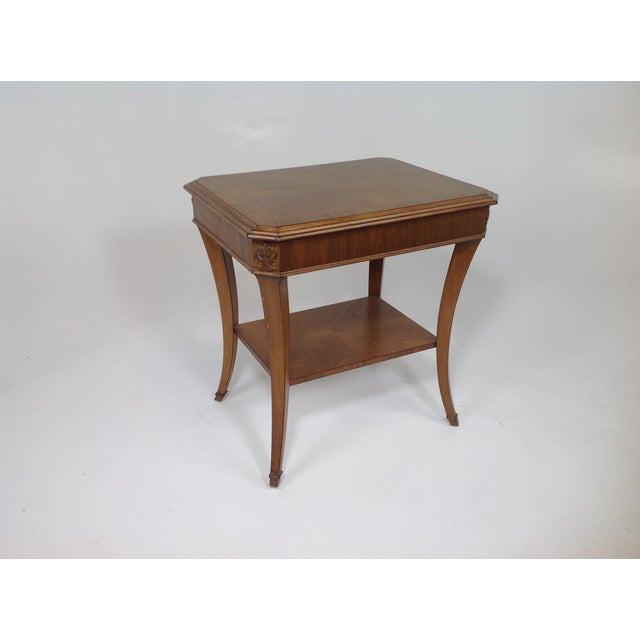 Modern Walnut End Table - Image 5 of 5
