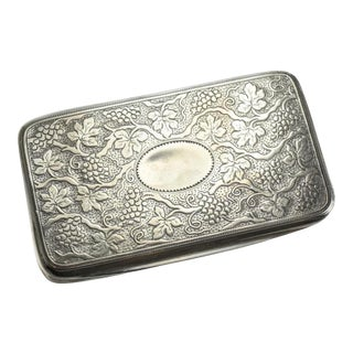 Matthew Linwood George III Birmingham Sterling Silver Gilt Snuff Box
