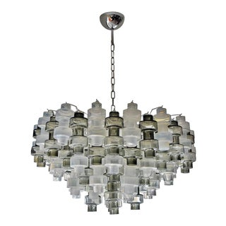 Manubri Smoked Glass Chandelier