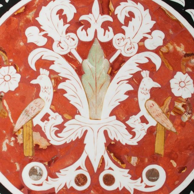 Pietra Dura Mosaic Table - Image 3 of 10