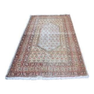 Antique Turkish Tribal Carpet - 4′6″ × 7′4″
