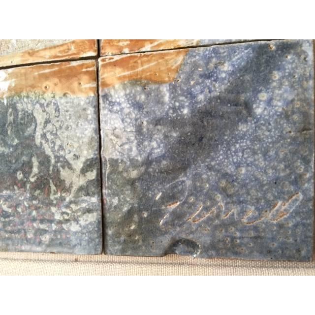 Image of Vintage Tile Art by Ceramists AJ and Jack Ferrell