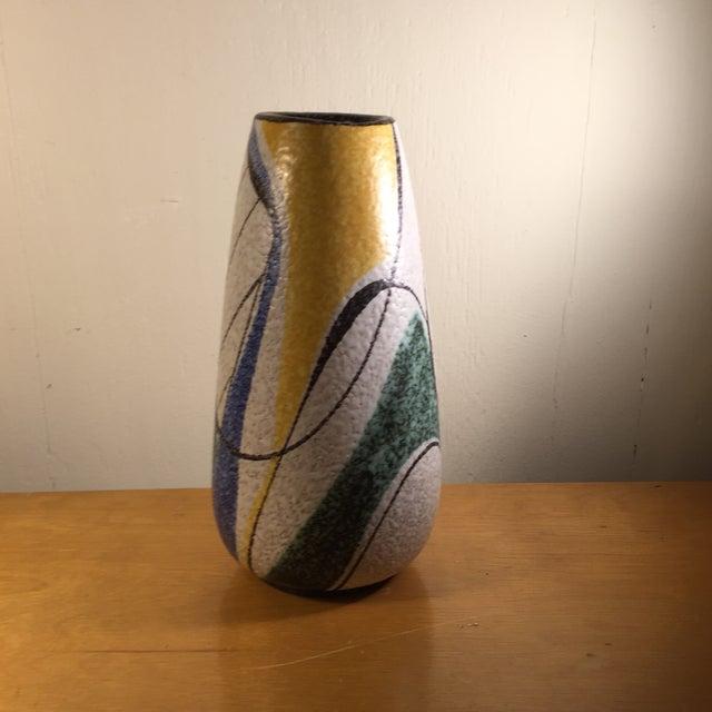 Image of Ruscha Vintage 1954 German Abstract Vase