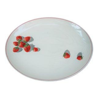 1930s Strawberry Serving Platter