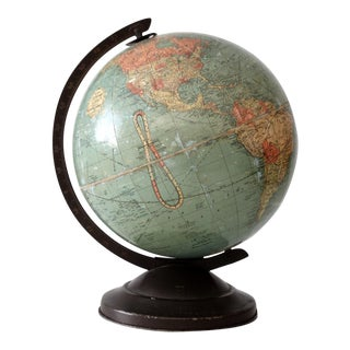 Replogle World Globe Circa 1939