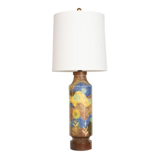 Raymor Ceramic Abstract Table Lamp