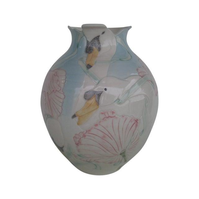 Vintage Art Pottery Vase - Image 1 of 10