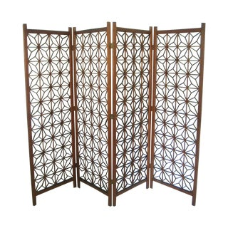 Oriental Double Hinged Room Divider
