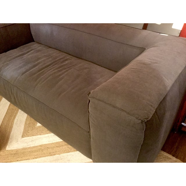 Linen Upholstered Sofa - Image 3 of 4