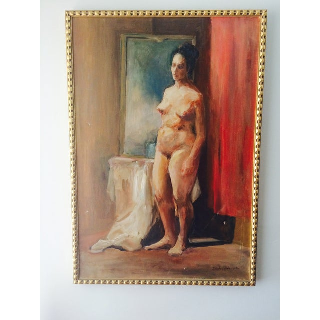 Image of Nude Oil Painting, 1964 by Dorothy Adams
