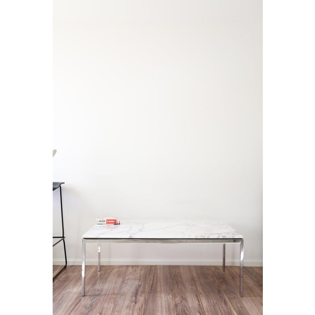 Florence Knoll Marble Coffee Table Chairish