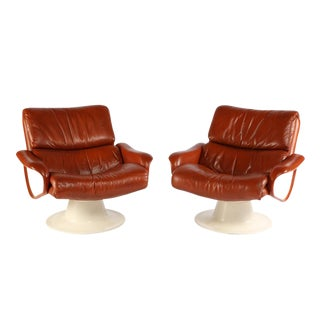 "1960S YRJO KUKKAPURO ""SATURN"" LOUNGE CHAIRS"