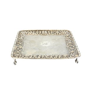 S. Kirk & Son Coin Silver Square Tray