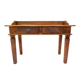 Writing Desk -Eco-Friendly Reclaimed Solid Wood