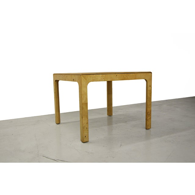 Henredon Scene Two Parson Style Coffee Side Table Chairish