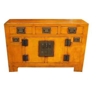 19th century Chinese Painted Sideboard