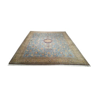 Vintage Persian Traditional Hand Knotted Rug - 10x14