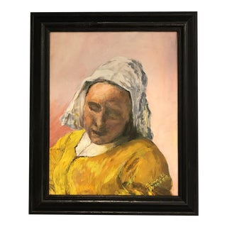 Vermeer Milkmaid Study