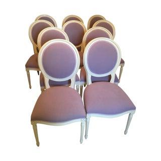 Set of Custom Dining Room Chairs  - 10
