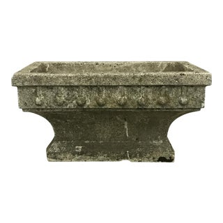 Rectangular Cast Stone Planter
